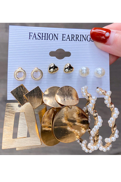 Goldie Lust Earrings Set