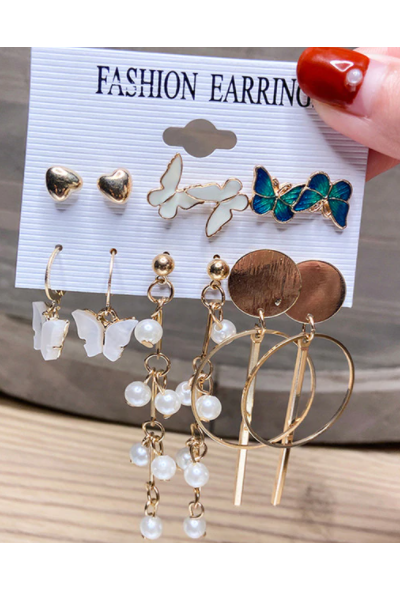 Butta Love Earrings Set