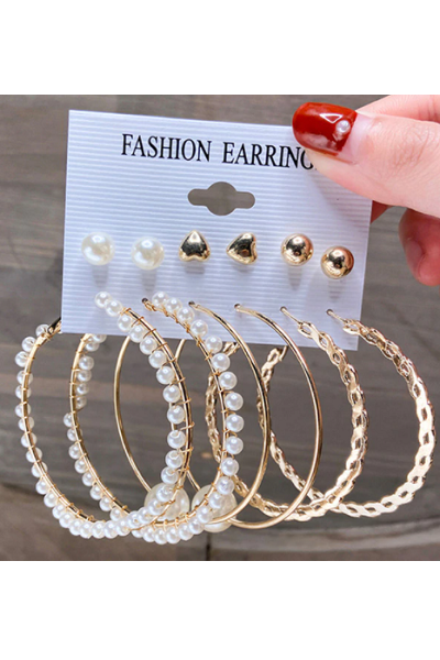 Hooped Perfection Earrings Set