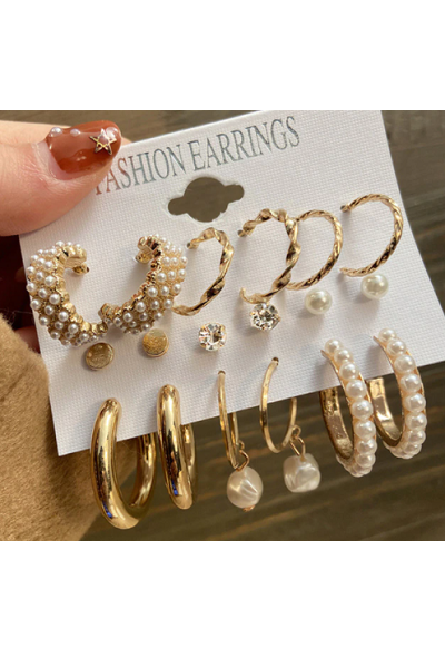 Golden Hour Earrings Set