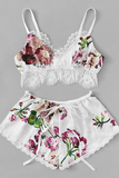 Bad Lil Thing Lingerie Set - White - flyqueens