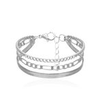 Flashy Queen Layered Bracelet