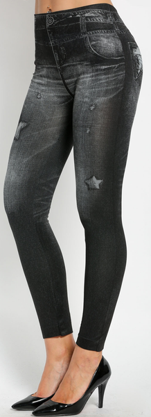 Imma Star Jeggings - Grey