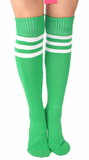 Knee-High-Honey Socks - Green - flyqueens