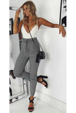 Play-Bae Bodysuit - Grey - flyqueens