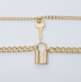 Locked Down Love Necklace - flyqueens