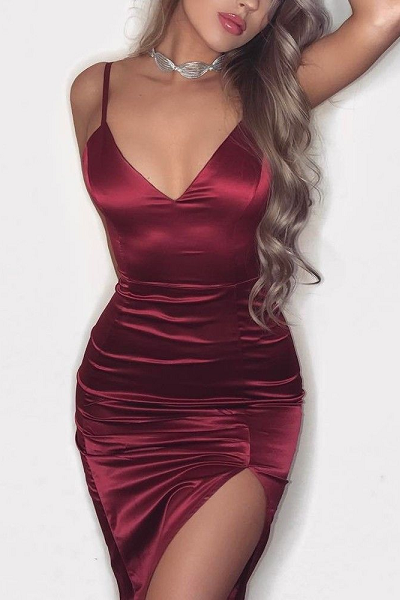 Blood Moon Dress - Burgundy