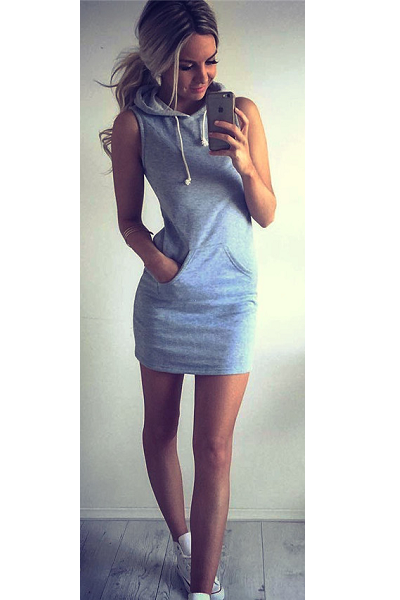 Fly Thang Hoodie Dress - flyqueens