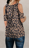 Liana Tee - Brown Leopard