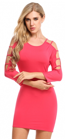 Kimmy Bodycon Dress - Pink
