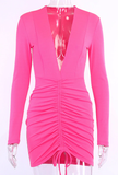 Out all Night Dress - Pink - flyqueens