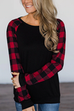 Plaid Princess Top - Black & Red - flyqueens