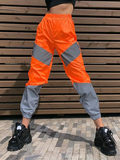 Spotlight On Me Reflective Joggers - Orange - flyqueens