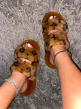 Bougie Babe Slippers - Brown