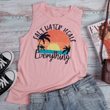 Beach Please Tank Top - flyqueens