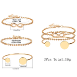 Higher Standards Bracelet Set - flyqueens