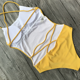 Forever a Baddie Swimsuit - Yellow - flyqueens