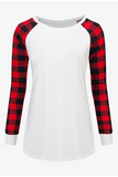 Plaid Princess Top - White - flyqueens