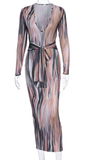 Make an Entrance Maxi Dress - flyqueens