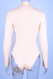 Don't Take It Personal Bodysuit - Beige - flyqueens