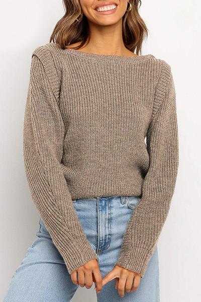 Vanessa Sweater - Latte