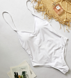 Coastal Queen Swimsuit - White - flyqueens