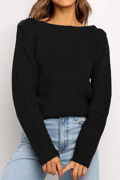 Vanessa Sweater - Black