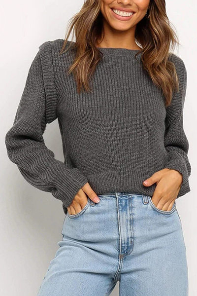 Vanessa Sweater - Grey