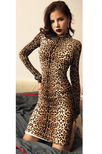 Wild Queen Dress - Leopard - flyqueens