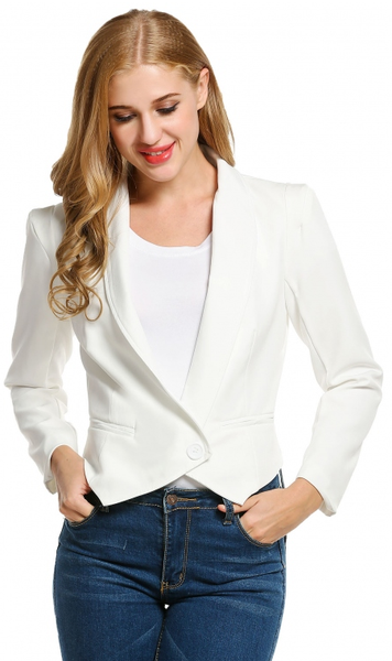 Professional Queen Blazer - White