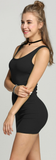 Simply Sexy Bodycon Dress - Black - flyqueens