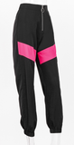 Got It Goin On Joggers - Black & Pink - flyqueens