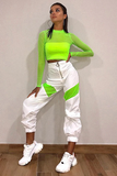 Got It Goin On Joggers - Green & White - flyqueens