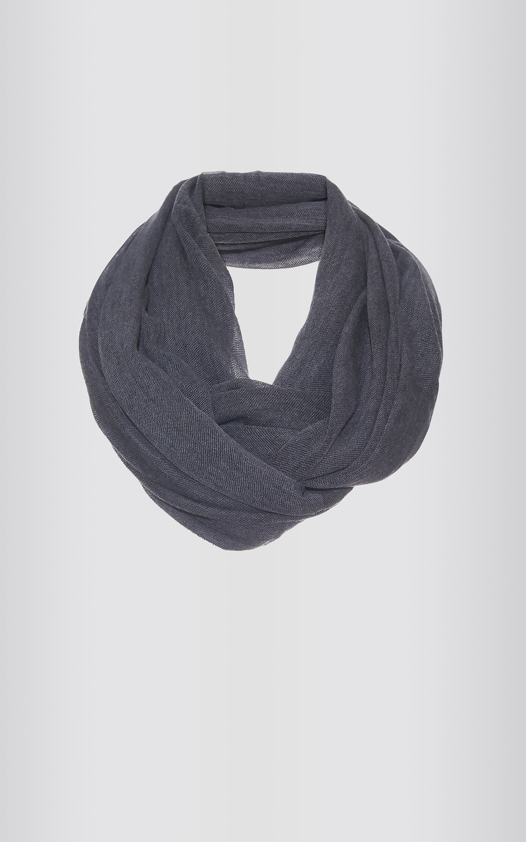 CIRCLE SCARF - CHARCOAL