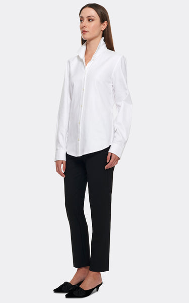 GINNA TAILORED SHIRT -  STRETCH COTTON