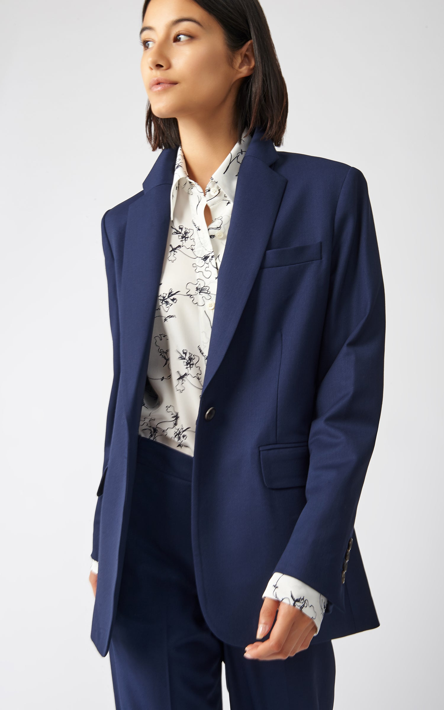 CLASSIC NOTCH BLAZER - 3D STRETCH