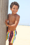 BOY'S COLOR THEORY SWIM SHORTS