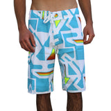 ARROWS MEN'S BOARD SHORTS-TURQUOISE