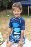 BOY'S GO FISH RASHGUARD