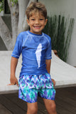 BOY'S BLUE MOON SWIM SHORTS