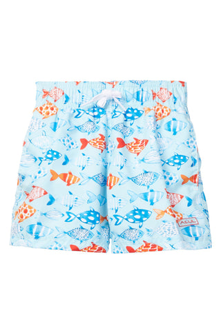 Fish and Co. Light Blue Swim Shorts