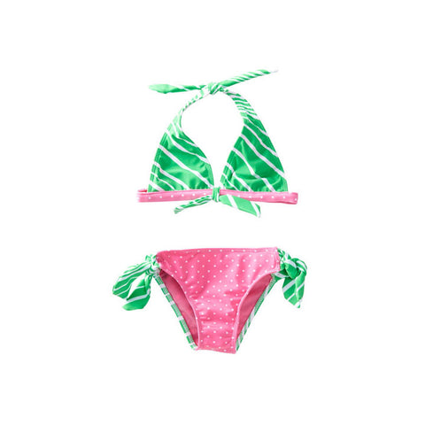 Candy Crush Halter Bikini
