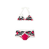Zebra Love Skirted Triangle Bikini