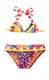 In The Mix Triangle Bikini- Orange
