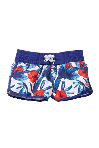 Blue Hawaii Girl Shorts