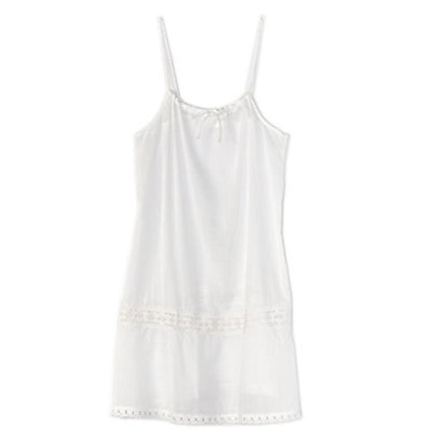 Drawstring Tunic-White