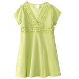 Cap Sleeve Tunic-Green