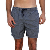 PINSTRIPES MEN'S SWIM SHORTS