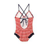 In the Navy One Piece-Toddler, Girls