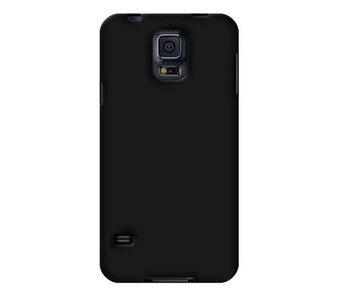 Personalized black phone case for Samsung Galaxy S5